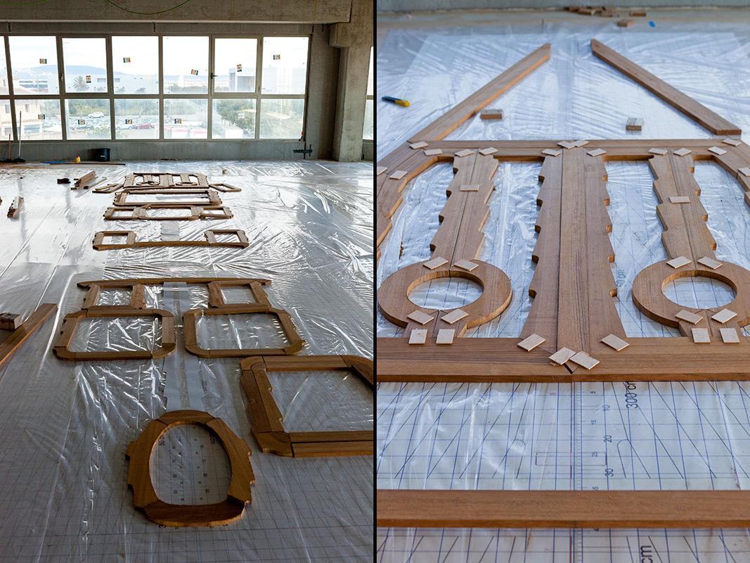 Fourth stage - preparing the deck