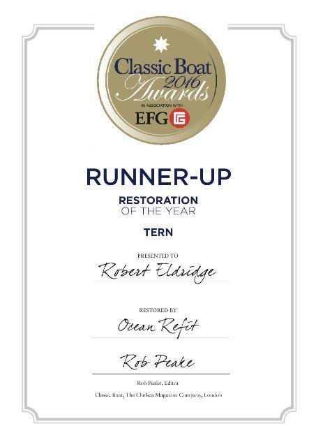 Tern certificate